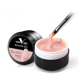 Grube Builder Gel Nails Różowy CANNI Nowy 15 ml Palec Przedłużania Paznokci Żel UV Do Paznokci Pokrywa Różowy Kamuflaż Soak Off