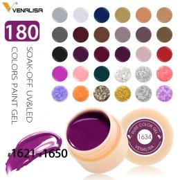 #50628 CANNI Wzorów Zdobienia Paznokci 2 w 1 UV/LED Soak Off 141 Kolory 5 ml Odkleić Kolor Żel UV