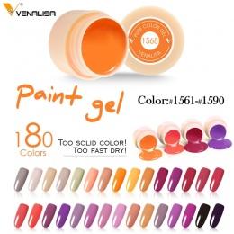 #50638 CANNI Żel Kolorowy Żel Polski Paznokci Kolor Paznokci Żel 5 ml Venalisa Malarstwo Żel Paznokci Farby Pure Color Wysokiej