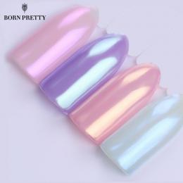 Syrenka Paznokci Glitter Powder Pearl Shell Shimmer Powder Pigment Gradientu Glimmer Pył Nail Art Dekoracje