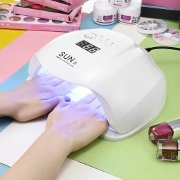 SŁOŃCE X 48/54 w Suszarka Do Paznokci UV Lampa LED Wyświetlacz LCD 36 LEDs Suszarka Do Paznokci Lampy Do Utwardzania żel Polski