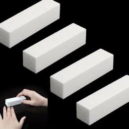 Wysoka Qaulity Szlifowanie Pilnik Bufora Bloku Do Żel UV Do Paznokci polski Paznokci Narzędzia Sztuki Manicure Pedicure Biały Po