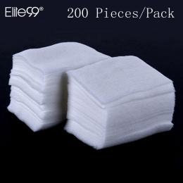 Elite99 200 sztuk/paczka Paznokci Bawełniane Chusteczki Żel UV Do Paznokci Porady Polski Remover Cleaner Lint Pad Papieru Nail A