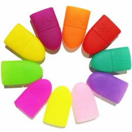 10 pc Nail Art Porady Żel UV Polski Remover Wrap Silikonowe elastyczne Soak-Off Cap Klip Manicure Lakier Do Czyszczenia Narzędzi