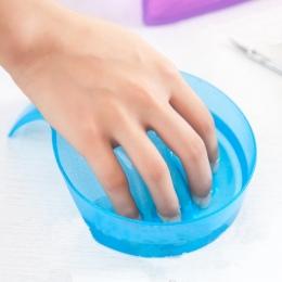 Leczenie Remover Manicure Bowl Soak Finger Wskazówka Akrylowa Nail Soaker dla DIY Nail Salon Spa Wanna Leczenie Manicure Narzędz