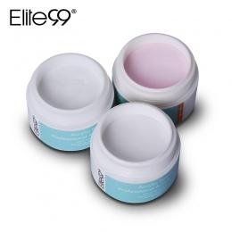 Elite99 Profesjonalny Proszek Akrylowy Kryształ Nail Art Wskazówka Manicure Builder Przezroczysty Proszek Ciekłokrystaliczny Róż