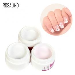 ROSALIND Proszek Akrylowy Kryształ Polimerowa Nail Art Builder Fałsz Porady Narzędzia Nail Art Porady Builder Paznokci Manicure