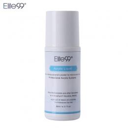 Elite99 80 ml Płyn Akrylowy Trzeba Mieszania Akryl Fałszywe Tipsy Akrylowe Paznokci Cieczy Profesjonalne DIY Nail Art Narzędzia