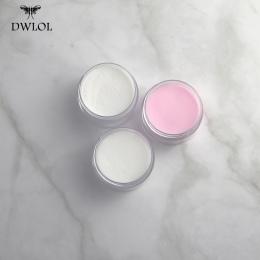 Proszek akrylowy 1 pc Paznokci Akrylowych Proszek Akrylowy Nail Proszku Kryształ Różowy Przezroczysty Żel Do Paznokci Pył Manicu