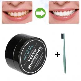 MAANGE Węgiel aktywowany wybielanie zębów Wybielanie Zębów Proszku Natural Organic Bamboo Pasty Do Zębów