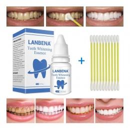 LANBENA Zęby Wybielanie Istotą Proszku Oral Hygiene Czyszczenie Serum Usuwa Tablica Plamy Zębów Wybielanie Stomatologiczne Narzę