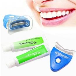 Gorąca Wyprzedaż! gorący Nowy Biały LED Światło Wybielanie Zębów Żel do Zębów Wybielacza Zdrowe Oral Dental Care Pasta do zębów