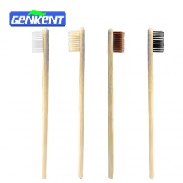 1 PC Dorosłych Nowością Bamboo Szczoteczka Szczoteczka Capitellum Drewna Dla Środowiska Bamboo Fibre Drewnianą Rączką