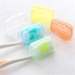 1 zestaw/5 sztuk Portable Travel Szczoteczka Szczoteczka Do Zębów Przypadku Ochronne Czapki Zdrowia Germproof Szczoteczki Do Zęb