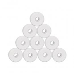 10 rolkach 50 m Flosser Stomatologiczne Higieny Jamy Ustnej Zęby Czyszczenia Wosku Mięty o smaku Nić Dentystyczna Szpula Wykałac
