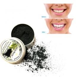 Naturalne Bambusa Węgiel aktywowany Proszek Do Czyszczenia Zębów Wybielanie Zębów Tablica Tartar Usuwanie Plamy Kawy Dropshippin