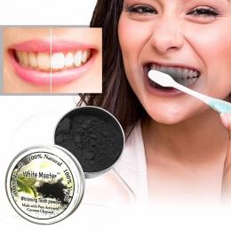 18g Zęby Wybielanie Proszku Natural Organic Węgla Aktywowanego Bambusa Pasta Do Zębów Zęby wybielanie proszku Hot Dropshipping