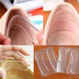 6 sztuk = 3 para Silikonowe Wkładki do Butów Anti Slip Podkładki Żelowe Pielęgnacja Stóp Protector dla Obcas Pocieranie Poduszki
