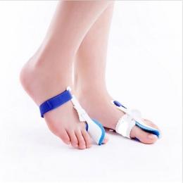 1 Pair Stóp Thumb Korektor Z palucha Zespół Cieśni Kanału Nadgarstka Splint Toe Prostownica Foot Pain Relief Palucha Koślawego C
