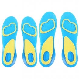 Żel silikonowy Powięzi podeszwy Heel Spur Running Sport Wkładki Wkładki Pielęgnacja Stóp Klocki arch ortopedycznej Amortyzacja w