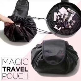 Kobiety Sznurek Kosmetyczka Moda Podróży Makeup Bag Organizator Make Up Case Storage Pouch Toaletowe Zestaw Kosmetyczny Box Wash