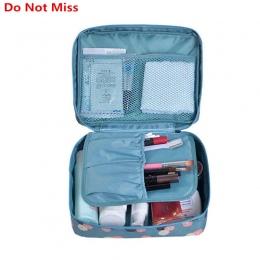Nie Przegap Drop ship wysokiej jakości Make Up Bag kobiety wodoodporna Kosmetyczne Makijaż torba organizator podróży na kosmetyk