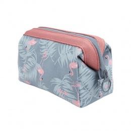 Nowy Przyjeżdża Flamingo Kosmetyczka Kobiety Necessaire Make Up Bag Podróży Wodoodporny Przenośny Makeup Torby Toaletowe Zestawy
