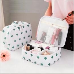 JIARUO Podróży Panie Kobiety Make up Makijaż Organizator Torba Kosmetyczne Toaletowe Zestawy Podróży kosmetyczka torba Do Przech