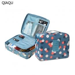 QIAQU Marka Man Kobiety Makeup bag kosmetyczka beauty Case Makijaż Organizator Toaletowe zestawy torba Do Przechowywania Podróży
