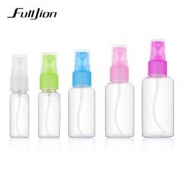Fulljion 1 Sztuk Mini Plastikowe Przezroczyste Małe Puste Butelki Spray dla Make Up I Pielęgnacji Skóry z Wymienialnym Wkładem L