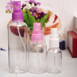 Nowy 1 sztuk Mini Mała Pusta Plastikowa Perfumy Przejrzyste Atomizer Spray Butelki Make up Make-up Próbki Kosmetyczne Pojemnik