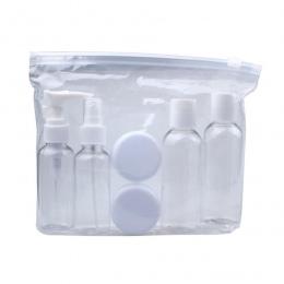 Profesjonalne Nowe Przenośne Przejrzyste Podróży Kosmetyczne Butelka Butelkowanie Punkty Sześć Zestawów Materiał Z Tworzywa Sztu