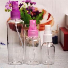 1 sztuk Wygodne do przenoszenia Małe Plastikowe Spray z Wymienialnym Wkładem Butelki Perfum Butelki Wody Sprayem Perfumy Pojemni