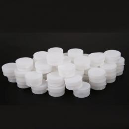 Przenośny 50 sztuk 5g/10g Mini Butelkach Wielokrotnego Użytku Pot Eyeshadow Kosmetyczne Pusty Słoik Kosmetycznych Twarzy Krem Po