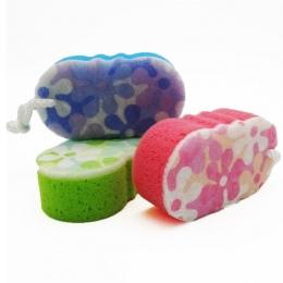 1 PC Masaż Wielu Wanna Prysznic Peeling Ciała Czyszczenia Płuczki Gąbki Do Czyszczenia Losowy Kolor