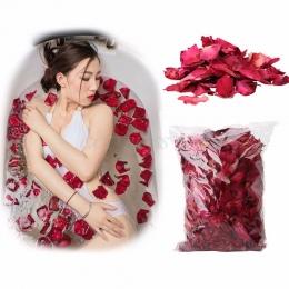 50 g/worek Pralnia Rose Płatek Naturalny Kwiat Spa Wanna Łagodzi Pachnące Masażer Ciała