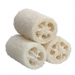 3 sztuk/zestaw Ciało Kąpieli Prysznic Sponge Scrubber Naturalne Loofah Trukwa Loofa Kąpiel Masaż Ciała Gąbki Płuczka Mały Rozmia
