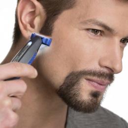 Gorący Mężczyzna Inteligentny Regulowany Bezpieczeństwo Razor Shaver Razor Razor Akumulator Wykończenia Krawędzi