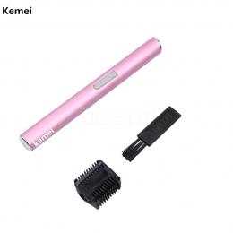 Kobiety i Mężczyźni Włosów Clipper Kemei Przenośna Elektryczna Maszyna Do Cięcia Remover Golarki Do Golenia Włosów Brwi