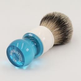 Yaqi 24mm Aqua Highmountain Silvertip Sierść borsuka Pędzel Do Golenia