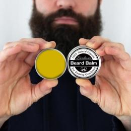 25g Naturalne Mężczyzn Broda Wosk Zostawić w Stylizacji Efekt Nawilżający Balsam Odżywka Organiczna Pielęgnacji Brody