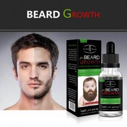 1 x broda naprawy rozwiązaniem wzrost Mężczyźni Cieczy Broda Szybki Wzrost Zwiększenia Twarzy Wąs Odżywianie Moustache Spadek Wy
