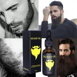 Mężczyźni Broda Broda Ciekłego Oleju Wzrostu Rzęs Szybko Poprawić Odżywianie Wąsy Wąsy Twarzy # F