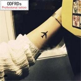 (Min zamówić $0.5) wodoodporna tymczasowy tatuaż tatuaż henną fałszywe flash tatuaż naklejki tatto Taty Miłośników samolot SYA01