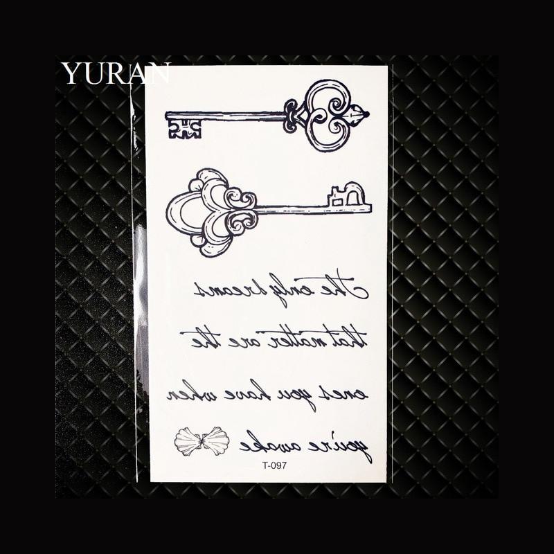 Tymczasowe Tatuaże Seksowne Dla Dziewczyny Angielskie Słowa