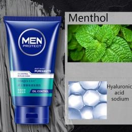 Mężczyźni Świeże Hydra Mycia Kontrola Oleju Czyszczenie twarzy mycia Piana Cleanser Nawilżający Skórę Twarzy Mycia Twarzy
