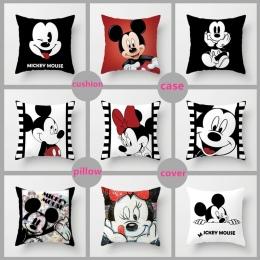 10 Style 40*40 cm 3D Myszka minnie Mickey Mouse Poduszki Poszewka na Poduszkę Mickey i Minnie Kreskówki Dla Dzieci Pokrywa podus