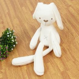 2017 Słodkie Królik Baby Doll Miękkie Pluszowe Zabawki Dla Dzieci Bunny Spania Mate Nadziewane i Pluszowe Zwierząt Zabawki Dla N