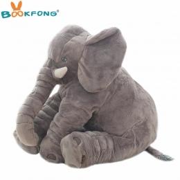 40 cm/60 cm Duży Pluszowy Słoń Lalki Dzieci Śpiąca Miękkie Plecy Poduszki Słodkie Nadziewane Słoń Dziecko Towarzyszą Lalki xmas