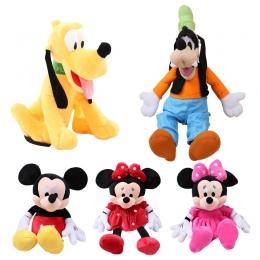 7 stylów 30 cm Mickey Mouse Minnie Pluszowe Zabawki Cute Pies Goofy Pies Pluto Kawaii Nadziewane Zabawki Cartoon Rysunek KidsChi